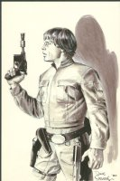 Luke Skywalker by Dave Stevens Comic Art
